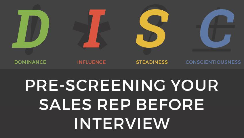 pre-screening-sales-rep