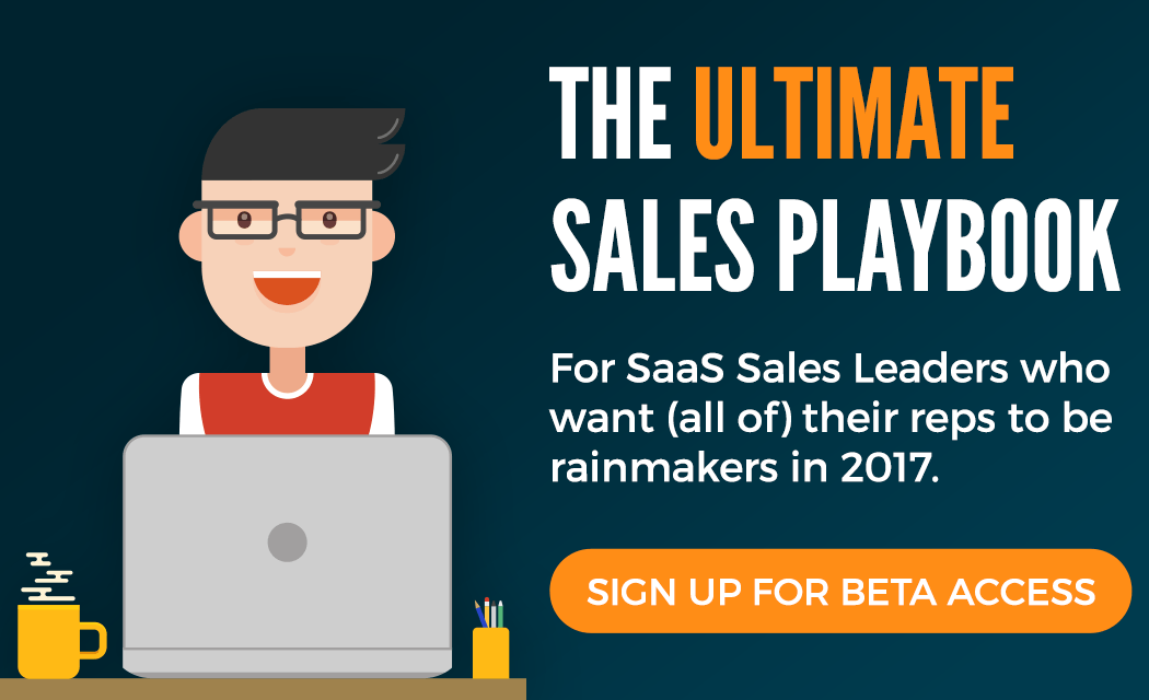 the ultimate sales playbook 2017